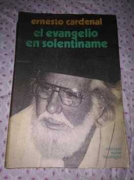 El Evangelio en Solentiname Ernesto Cardenal 1985 libro NuevaNicaragua