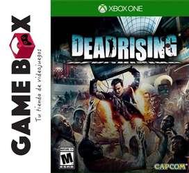 Dead Rising Hd Xbox One - Discos Físico - Nuevo De Paquete