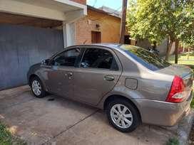 Toyota Etios XLS 2016 Sedan. Único dueño.