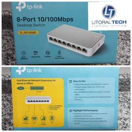 Switch 8 puertos, Tp-Link 100 mbps TL-SF1008D