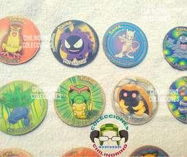 Taps 1 Pokémon 1999 chipytaps Tazos artículos de colección vintage