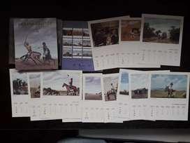 Calendario Molina Campos 1998. Pagos en efectivo o con tarjeta