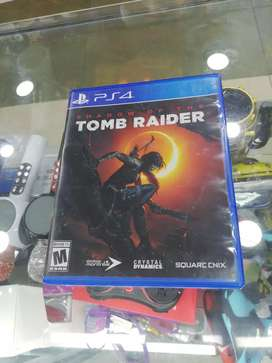 Juego play 4 ps4 TOMB RAIDER SHADOW OF THE