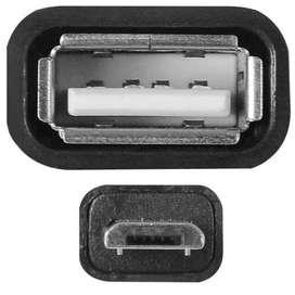 CONVERTIDOR ADAPTADOR Otg Micro Usb A Usb y mini usb a USB HEMBRA
