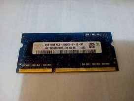 MEMORIA RAM DDR3 PARA PORTÁTIL MARCA HYNYX.
