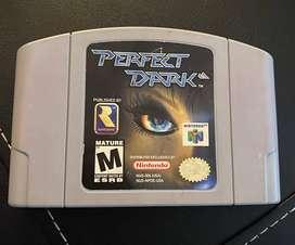 Juego Nintendo N64 Perfect Dark Videojuego 100% Original segunda mano  Chacarita, Capital Federal