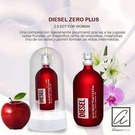 PERFUME DIESEL ZERO PLUS  75 ML. damas