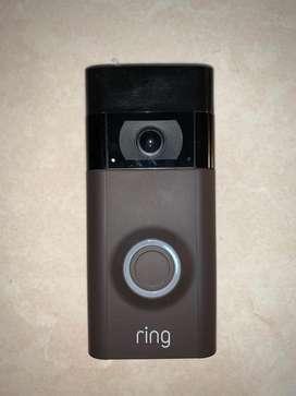 Ring video dorbell 2 ( Timbre inalámbrico con audio y cámara de video)