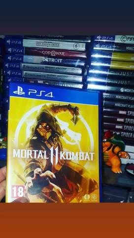 Juego play mortal k