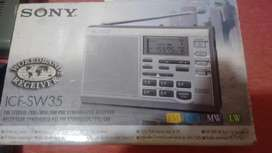 Sony Icf-sw35 Digital Tuning World Band Receiver