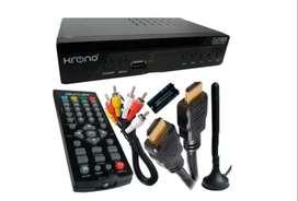 Decodificador Krono Tdt Receptor Tv Digital Dvb Hdmi Antena