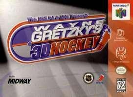 nintendo 64 wayne gretzky 3d hokey cartucho funcionando cole