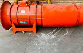 reparacion de ventiladores axiales mineros