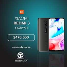 Xiaomi redmi 8 4GB/64Gb, nuevos, TIENDA FISICA, calidad y garantia. Lideres en tecnologia.
