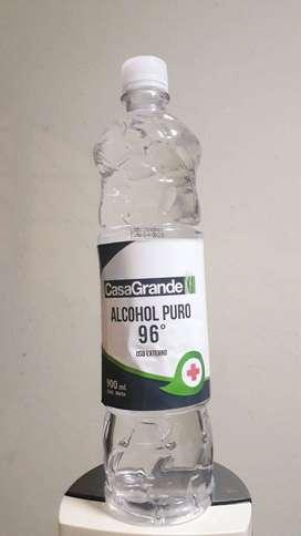 ALCOHOL PURO 96° CASA GRANDE