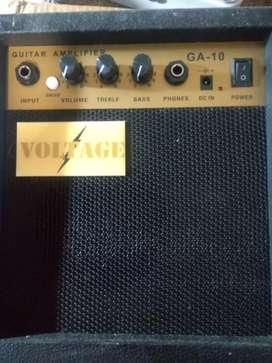 Amplificador. Guitarra