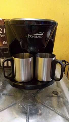 Cafetera dos tazas