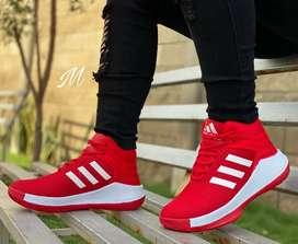 Zapato Tennis Deportivo Bota Botin Adidas Para Hombre