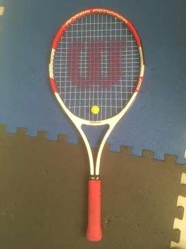 Raqueta tenis wilson niño