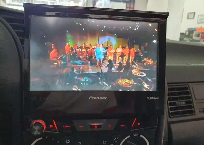 Radio Pioneer dvd USB camara 0