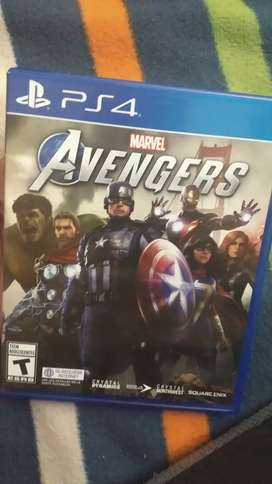 Avengers PS4 Latino