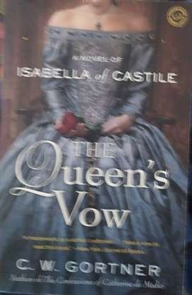 THE QUEENS VOW  , ISABELLA OF CASTILE ,  C. W. GORTNER