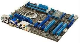 Asus P8H77-V placa base H77 LGA 1155 22nm i3 i5 i7 DDR3 32G SATA3 USB3.0 ATX