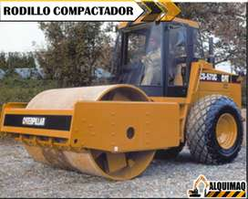 Alquier de Maquinaria: Rodillo Compactador, Minicargadora, Gallineta, Excavadora, Miniexcavadora, Cargadora frontal.