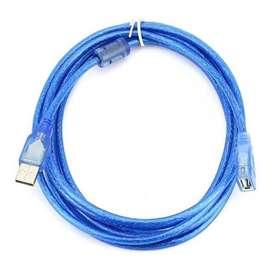 Cable Impresora Blindado 3 Metros