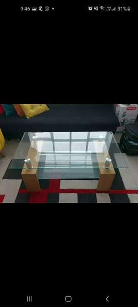 Mesa de vidrio para sala