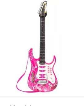 Juguete Guitarra Electrica Rock´n Roll Niña Nuevo