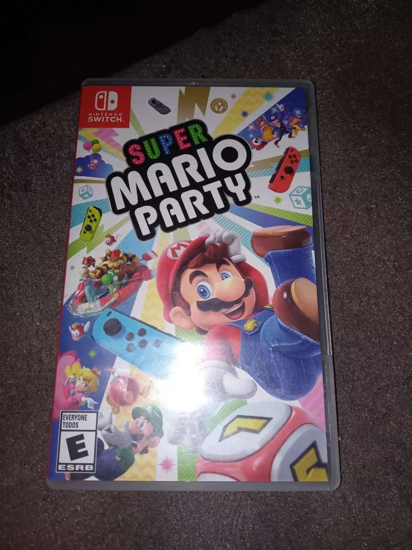 Mario Party Switch 0