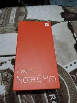 Xiaomi Redmi Note 6 Pro - 4Ram 64Gb