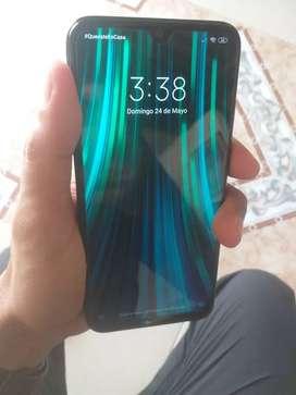 Vendo o cambio Xiaomi redmi note 8 en excelente estado lo cambio por iphone 7 o 6s plus