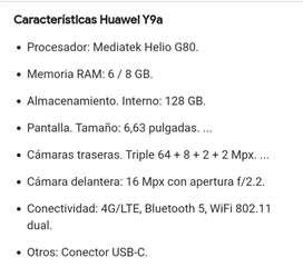 Celular Huawei Y9a 2020