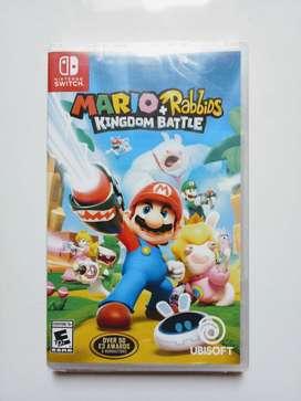 Mario Rabbids Nintendo Switch Nuevo y Sellado