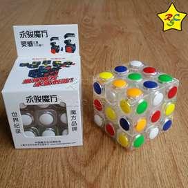 Cubo Rubik Yj Linggan 3x3 Semaforo Transparente