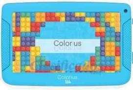 Tablet 7 pulgadas colorius Kids