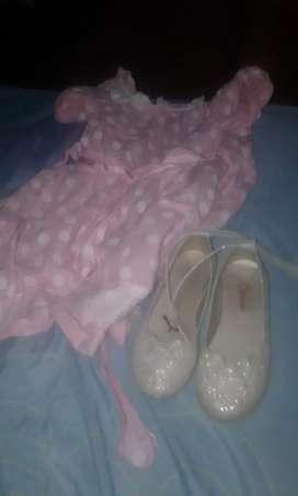 Vestido más  zapatos