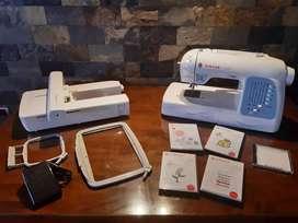 Se vende máquina bordadora SINGER FUTURA XL400