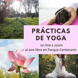 Clases de Yoga en Parque Centenario