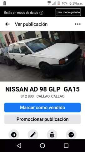 NISSAN AD 98 GLP GA 15