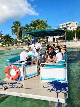 Alquiler de pontón para tus vacaciones en San Andrés islas