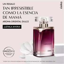 perfume para dama VIBRANZA (AVON)