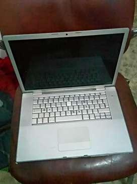 Vendo computadora portátil MacBook para repuestos