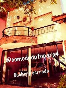 céntrico dpto para 4 en Colón, Entre Ríos