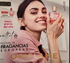 Perfumes de  Oriflame  a super oferta