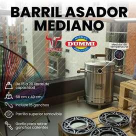 Barril Asador Mediano – Steak and Beer