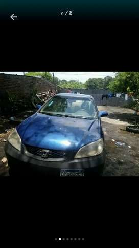 Honda civic cupe d17