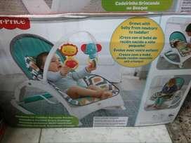 Silla vibradora para bebes